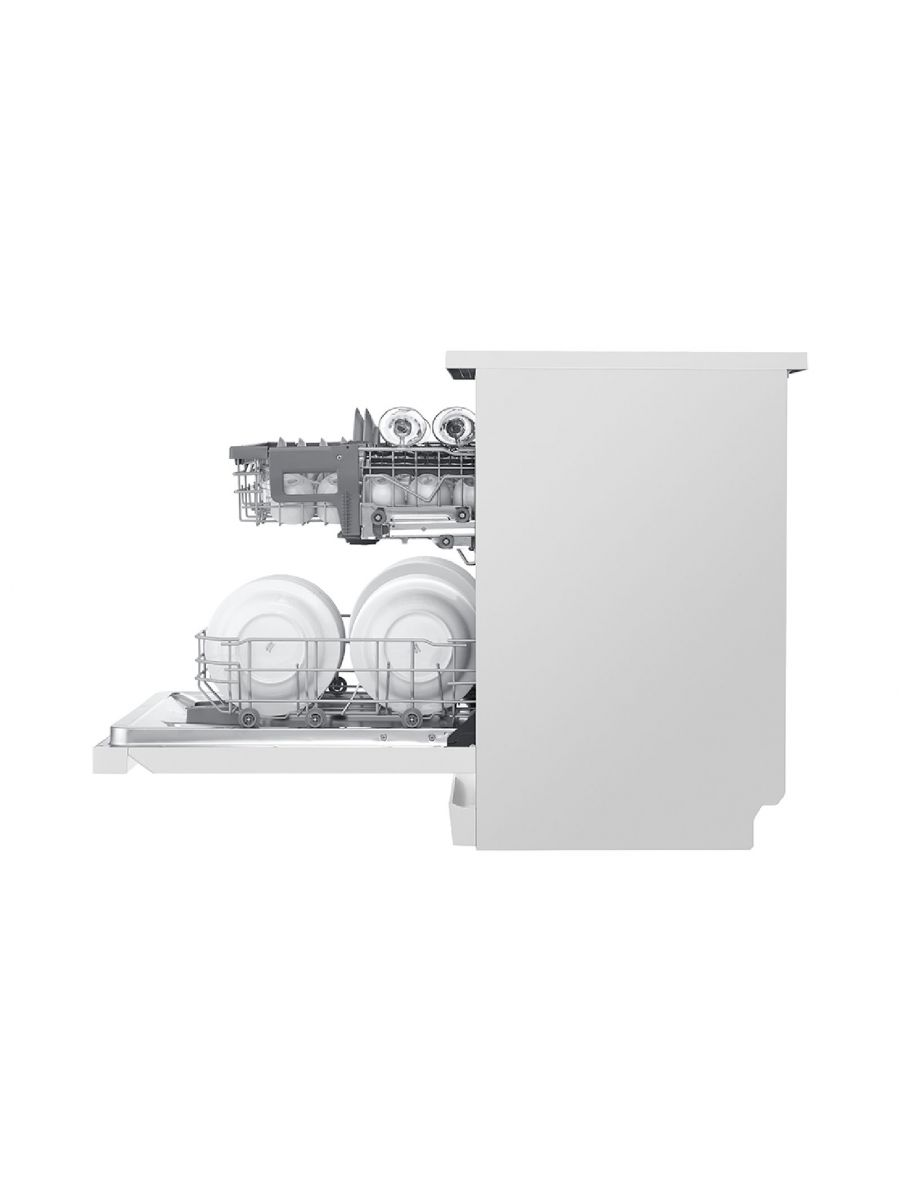 LG Dishwash QuadWash White